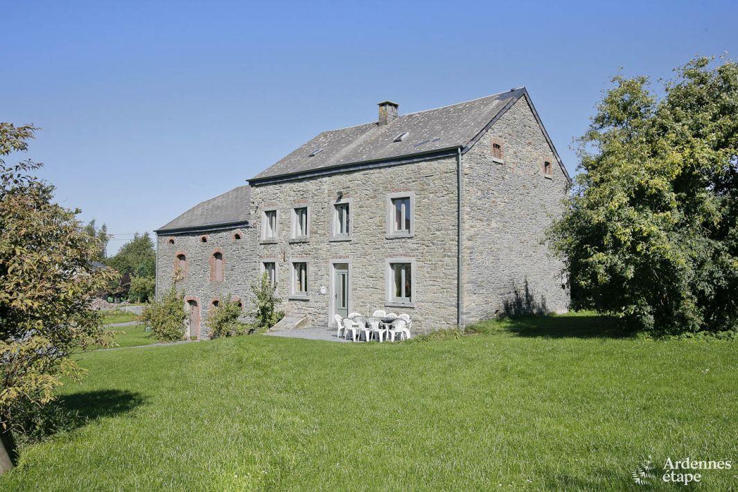 maison de vacances pour groupes de19 personnes avec jardin bastogne. Black Bedroom Furniture Sets. Home Design Ideas