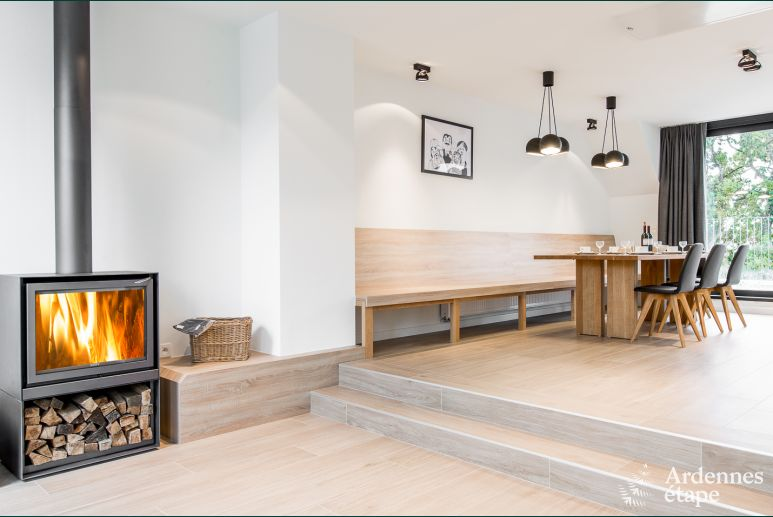 Appartement de vacances contemporain à Büllingen avec sauna privatif