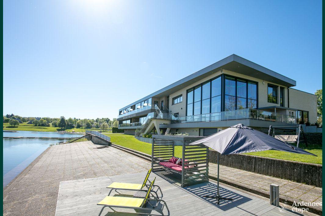 Appartement de luxe avec vue imprenable sur le lac de for Camping ardennes belges avec piscine