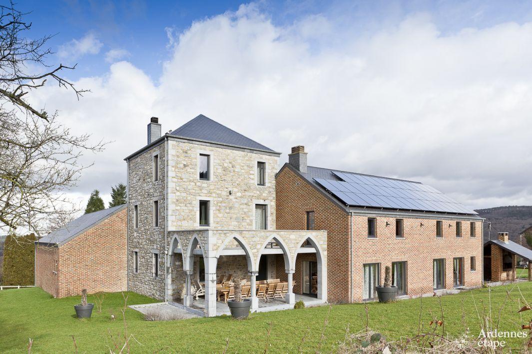 Jolie villa de luxe avec piscine pour 24 pers durbuy - Maison de vacances harwick ...