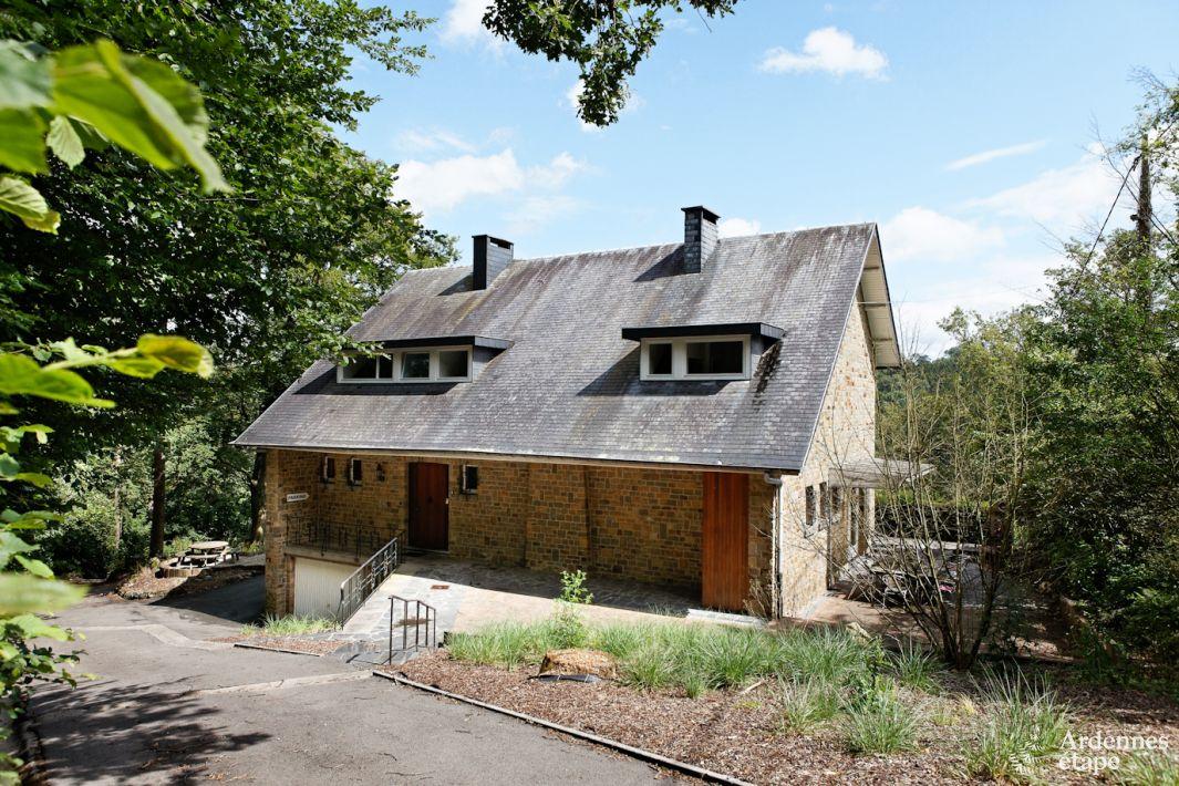 Villa 3 toiles pour 9 personnes pr s de durbuy en ardennes for Maison de vacances linge de maison