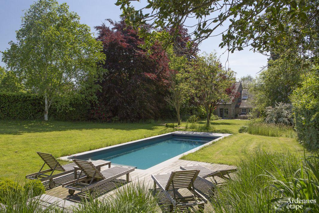 Joli g te de vacances avec sauna et piscine ext rieure for Camping ardennes belge avec piscine