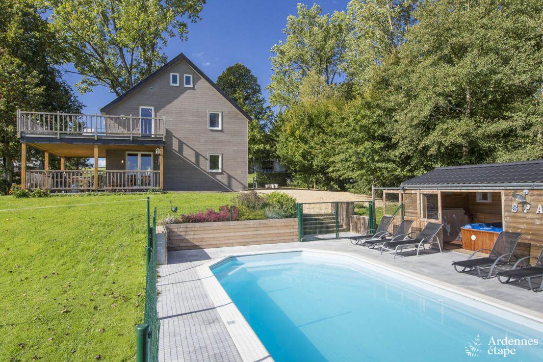 Maison de vacances avec espaces d tente et piscine pour 9 for Piscine 02