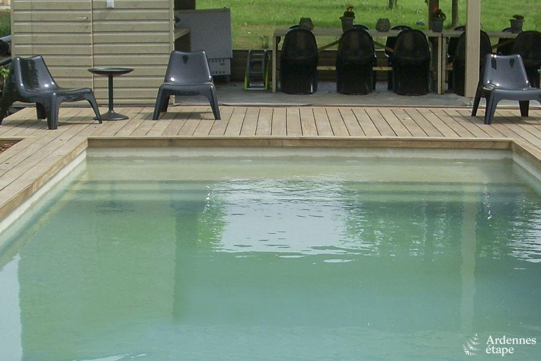 Maison de vacances de luxe 4 5 toiles avec piscine for Camping ardennes belges avec piscine
