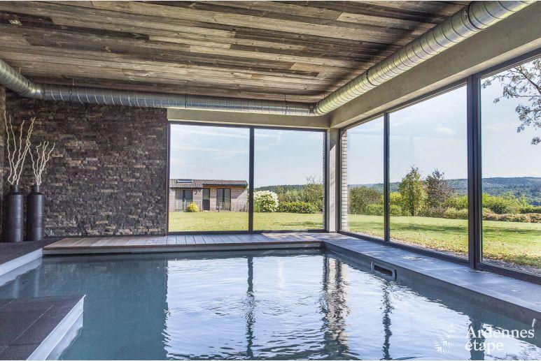 Villa De Luxe Avec Piscine Interieure Et Confort Haut De Gamme A Jalhay