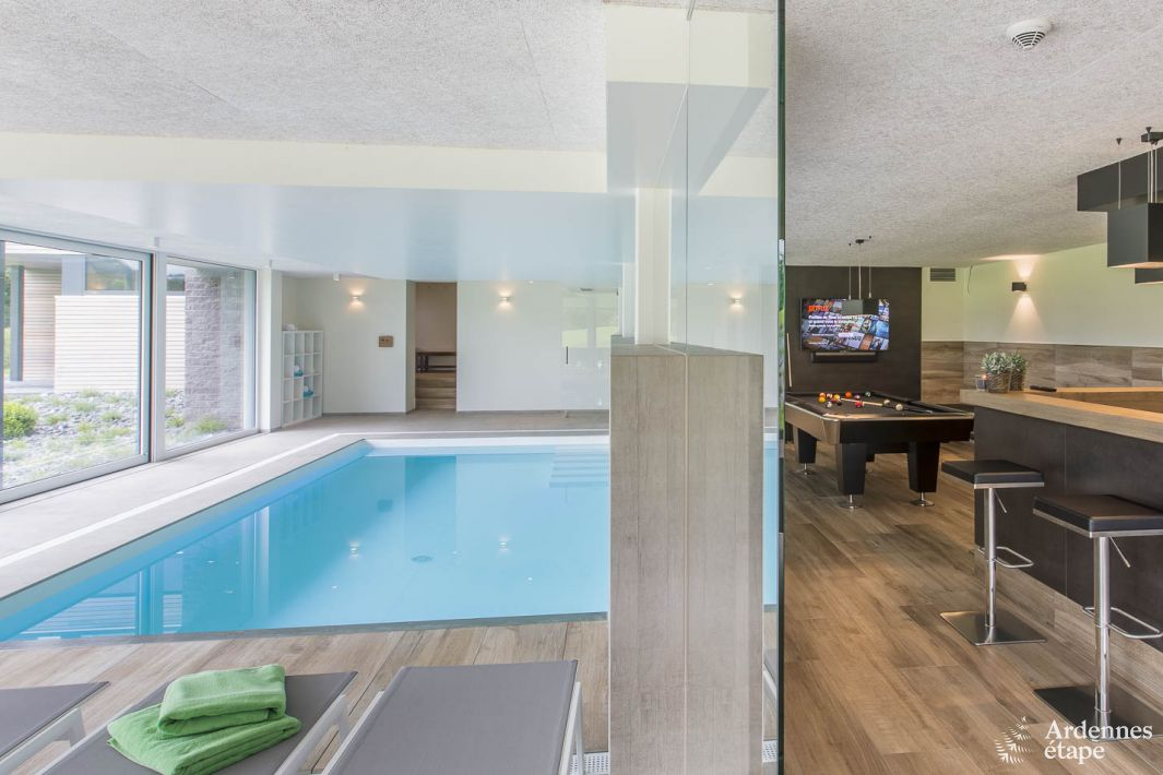 vacances au luxembourg avec piscine Ardennes-Etape