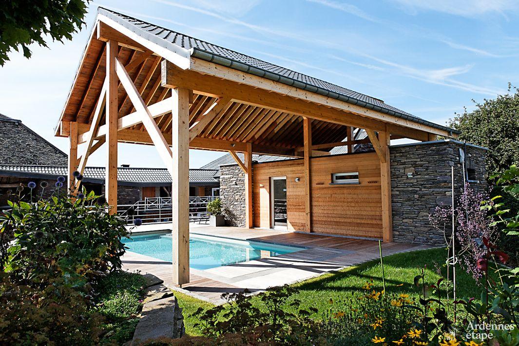 G te authentique la ferme avec centre bien tre et for Maison de vacances linge de maison