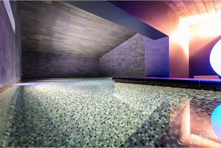 Villa De Luxe Pour 2 Personnes Avec Piscine Interieure A Oteppe