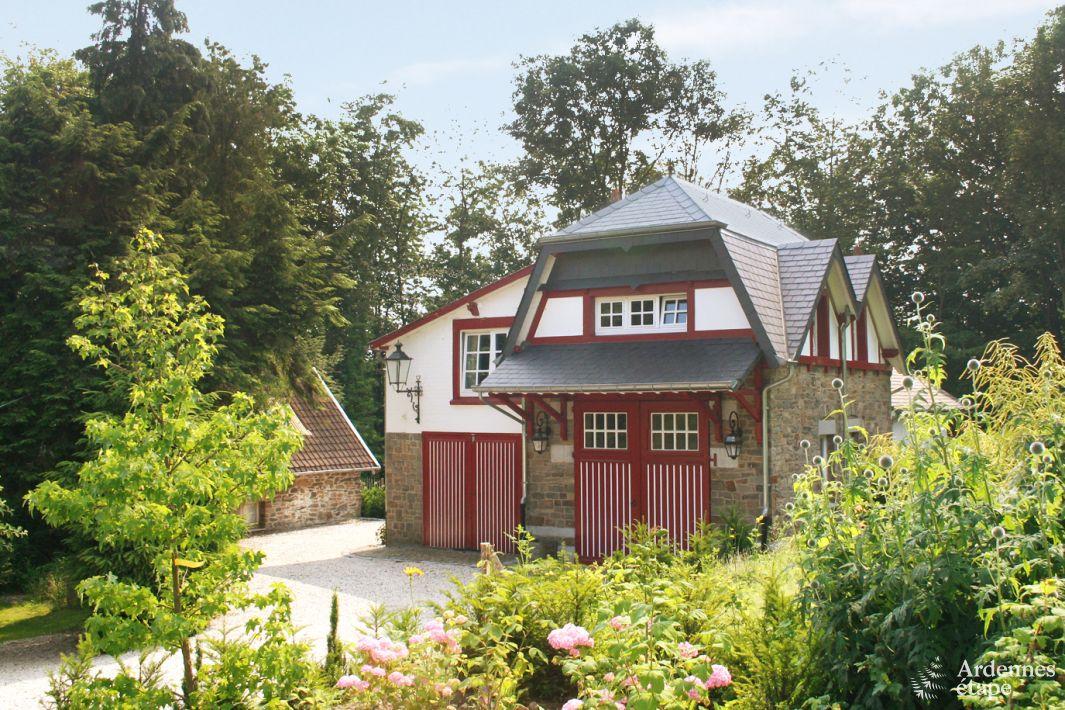 G te de charme pour 6 personnes spa dans les ardennes belges for Asilo masi maison de charme