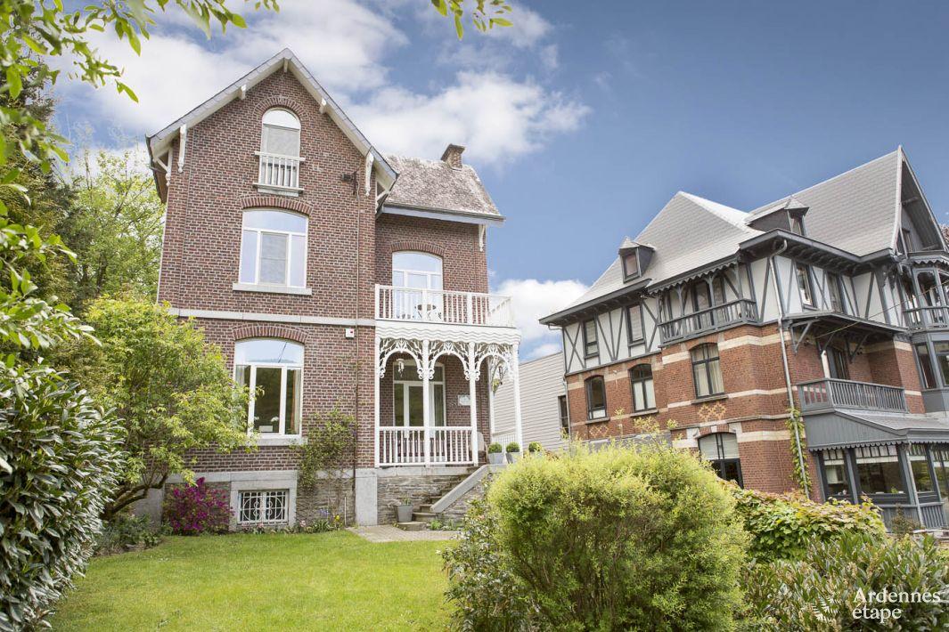 Authentique villa de spa louer pour un s jour c t du for Maison de vacances linge de maison