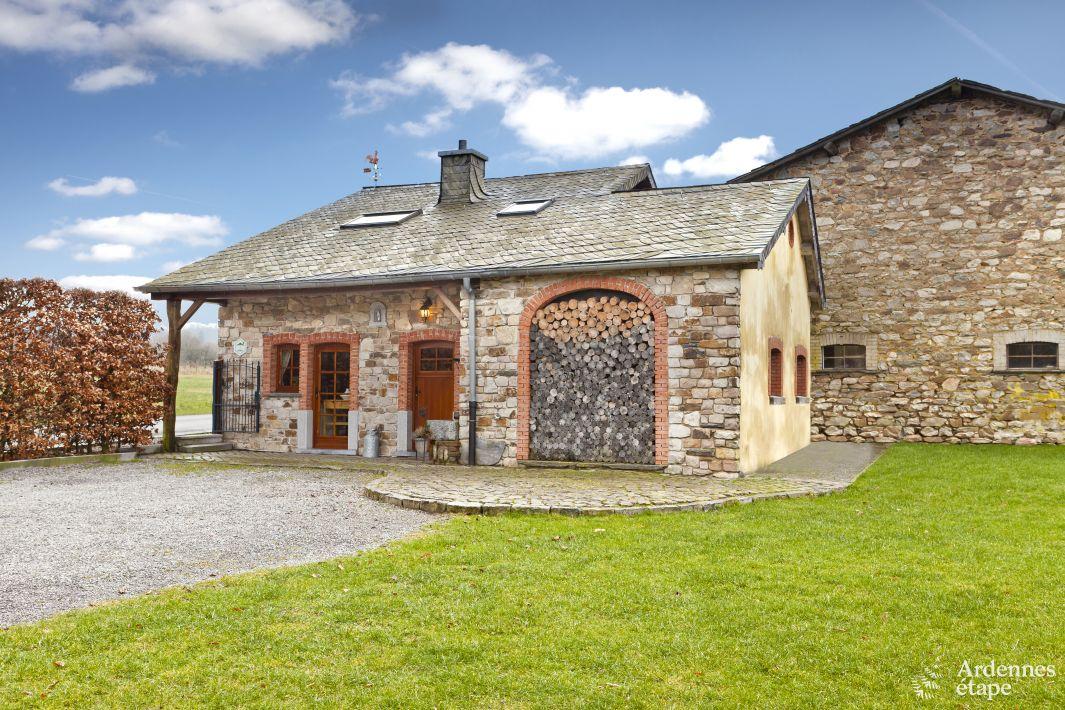Charmante et typique maison ardennaise 6 personnes louer for Maison de vacances linge de maison