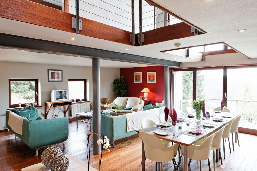 Sublime maison de vacances avec wellness louer pour 12 14 pers waimes for Maison de vacance a louer