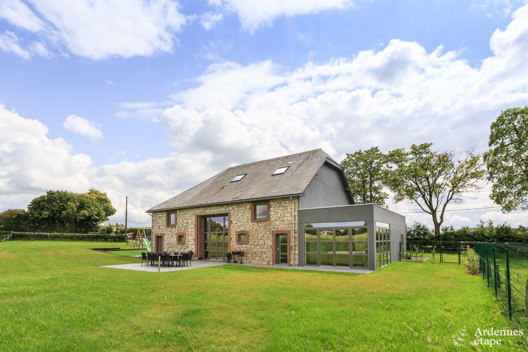 Authentique ferme au luxe 4 5 toiles louer pour un s jour waimes - Villa de vacances luxe location think ...