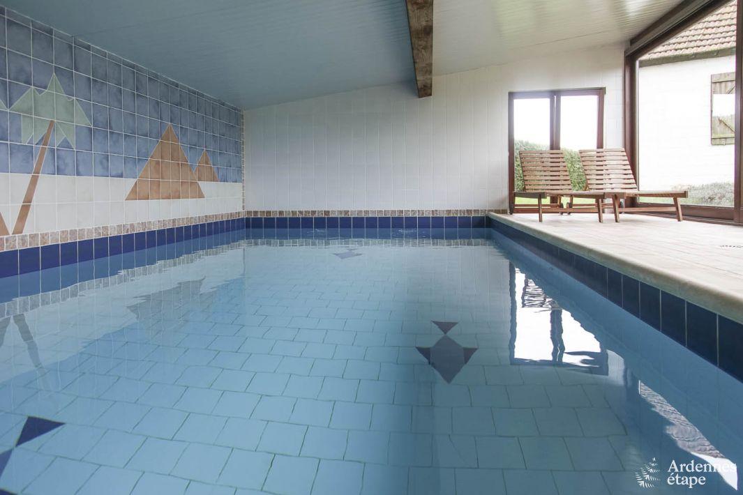 Maison de vacances grande capacit avec piscine int rieure for Piscine 01
