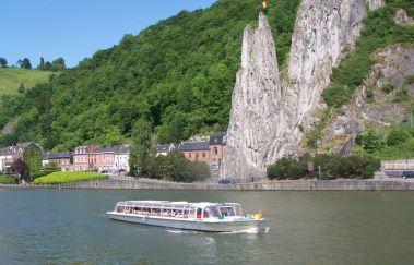 Dinant Evasion : croisières sur Meuse-Croisière à Province de Namur