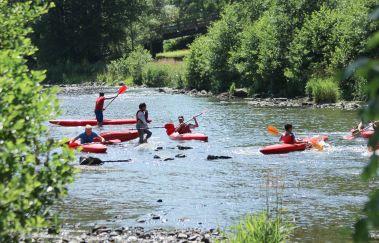 Coo Kayak-Kayak à Province de Liège