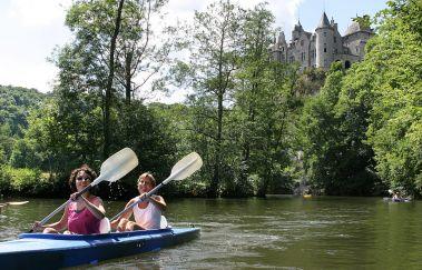 Lesse Kayaks-Kayak à Province de Namur
