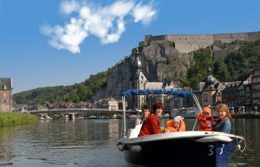 Dinant Evasion: Bateaux sans permis-Location de bateaux à Province de Namur