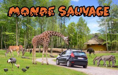 Le Monde Sauvage d'Aywaille-Parcs-animaliers à Province de Liège