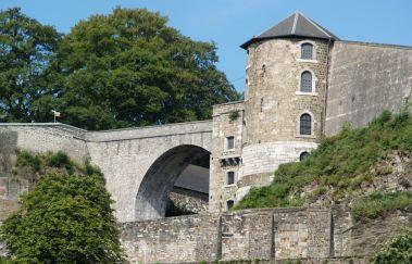 Promenades à la Citadelle de Namur-Promenades pédestres balisées à Province de Namur