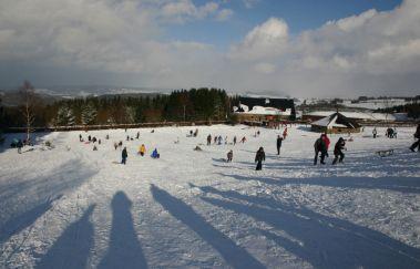 Pistes de ski de la Baraque Fraiture-Ski de fond à Province du Luxembourg
