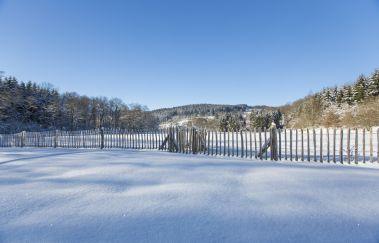 Pistes de ski du Bailet-Ski de fond à La Roche en Ardenne - Province du Luxembourg