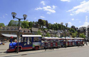 Le petit train de La Roche-Train touristique à Province du Luxembourg